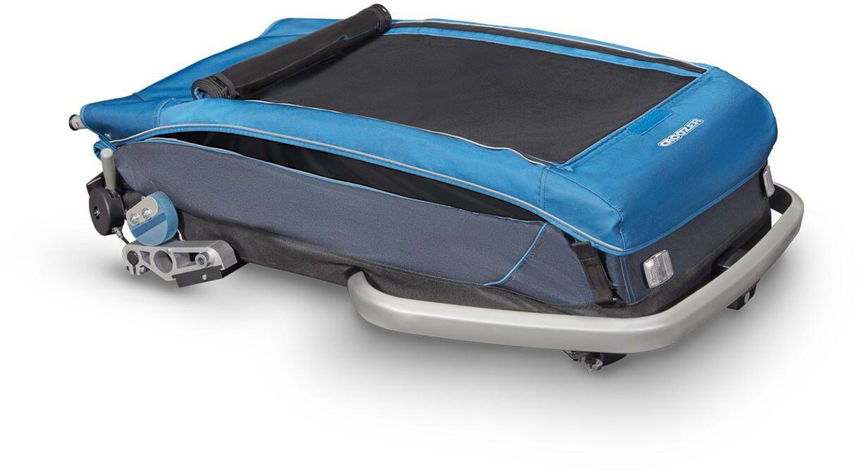 Klettergurt Gelbox : Croozer kid plus for 2 fahrradanhänger ocean blue campz.de
